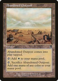 Abandoned Outpost, Magic: The Gathering, Odyssey