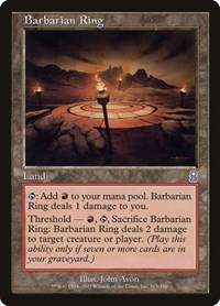 Barbarian Ring, Magic: The Gathering, Odyssey