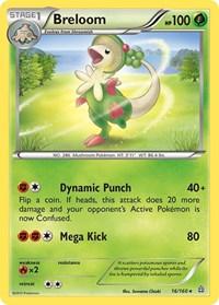 Breloom, Pokemon, XY - Primal Clash