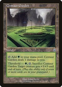 Centaur Garden, Magic: The Gathering, Odyssey