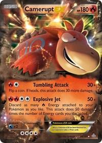 Camerupt EX, Pokemon, XY - Primal Clash