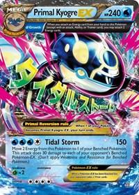 Primal Kyogre EX (Alpha), Pokemon, XY - Primal Clash