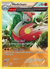 Medicham (Omega), Pokemon, XY - Primal Clash