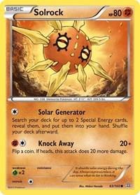 Solrock, Pokemon, XY - Primal Clash