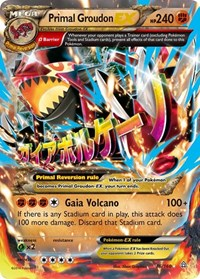 Primal Groudon EX (Omega), Pokemon, XY - Primal Clash