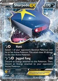 Sharpedo EX, Pokemon, XY - Primal Clash