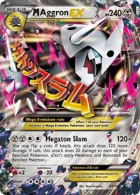 M Aggron EX, Pokemon, XY - Primal Clash