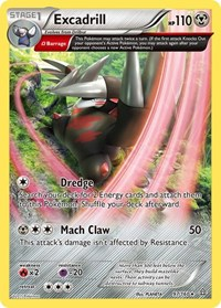 Excadrill (Omega), Pokemon, XY - Primal Clash