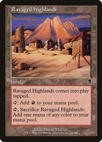 Ravaged Highlands, Magic, Odyssey