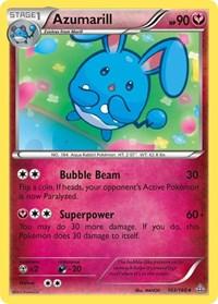 Azumarill, Pokemon, XY - Primal Clash