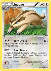Linoone, Pokemon, XY - Primal Clash