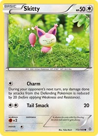 Skitty, Pokemon, XY - Primal Clash