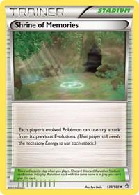 Shrine of Memories, Pokemon, XY - Primal Clash