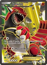 Groudon EX (150 Full Art), Pokemon, XY - Primal Clash