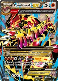 Primal Groudon EX (Omega - 151 Full Art), Pokemon, XY - Primal Clash