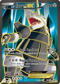 Aggron EX (153 Full Art), Pokemon, XY - Primal Clash