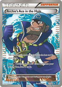 Archie's Ace in the Hole (157 Full Art), Pokemon, XY - Primal Clash