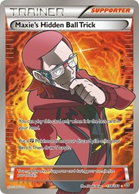Maxie's Hidden Ball Trick (158 Full Art), Pokemon, XY - Primal Clash