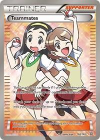 Teammates (160 Full Art), Pokemon, XY - Primal Clash