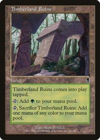 Timberland Ruins, Magic, Odyssey