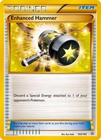 Enhanced Hammer (162 Secret Rare), Pokemon, XY - Primal Clash