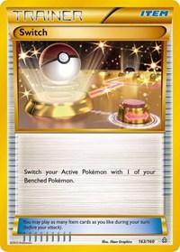 Switch (163 Secret Rare), Pokemon, XY - Primal Clash