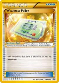Weakness Policy (164 Secret Rare), Pokemon, XY - Primal Clash