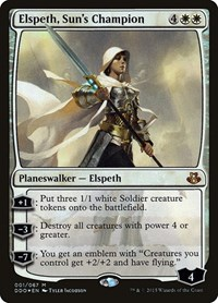 Elspeth, Sun's Champion, Magic: The Gathering, Duel Decks: Elspeth vs. Kiora