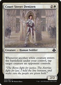 Court Street Denizen, Magic: The Gathering, Duel Decks: Elspeth vs. Kiora
