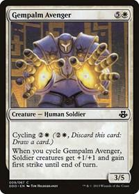 Gempalm Avenger, Magic: The Gathering, Duel Decks: Elspeth vs. Kiora