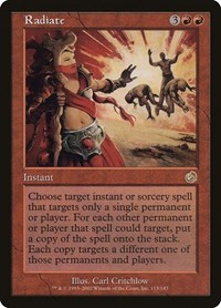 Radiate, Magic: The Gathering, Torment