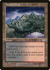 Tainted Peak, Magic: The Gathering, Torment
