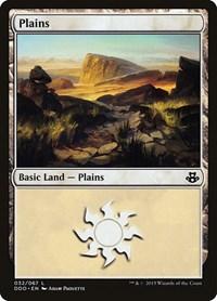 Plains (32), Magic: The Gathering, Duel Decks: Elspeth vs. Kiora