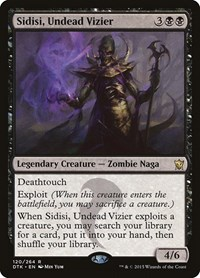 Sidisi, Undead Vizier, Magic: The Gathering, Dragons of Tarkir