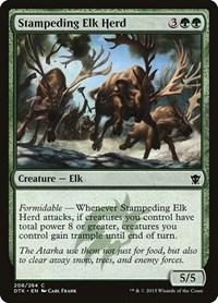 Stampeding Elk Herd, Magic: The Gathering, Dragons of Tarkir