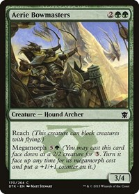 Aerie Bowmasters, Magic: The Gathering, Dragons of Tarkir