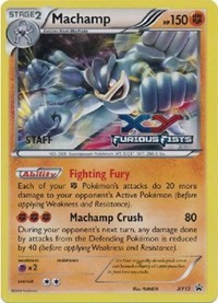 Machamp - XY13 (Prerelease Promo) [Staff], Pokemon, XY Promos
