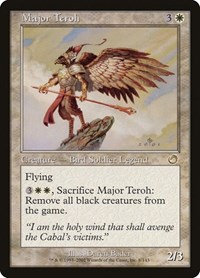 Major Teroh, Magic: The Gathering, Torment