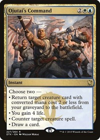 Ojutai's Command, Magic: The Gathering, Dragons of Tarkir