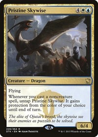 Pristine Skywise, Magic: The Gathering, Dragons of Tarkir