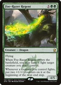 Foe-Razer Regent, Magic, Tarkir Dragonfury Promos