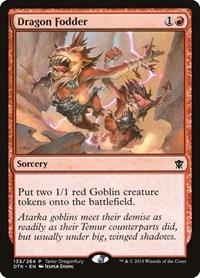 Dragon Fodder, Magic, Tarkir Dragonfury Promos