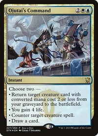 Ojutai's Command, Magic: The Gathering, Buy-A-Box Promos