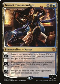 Narset Transcendent, Magic, Dragons of Tarkir