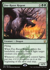 Foe-Razer Regent, Magic: The Gathering, Dragons of Tarkir