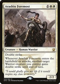 Arashin Foremost, Magic: The Gathering, Dragons of Tarkir