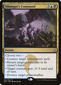 Silumgar's Command, Magic: The Gathering, Dragons of Tarkir