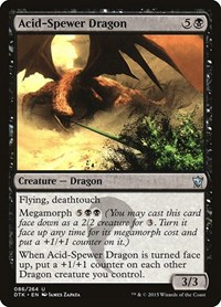 Acid-Spewer Dragon, Magic: The Gathering, Dragons of Tarkir