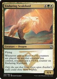 Enduring Scalelord, Magic: The Gathering, Dragons of Tarkir