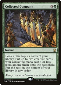 Collected Company, Magic: The Gathering, Dragons of Tarkir